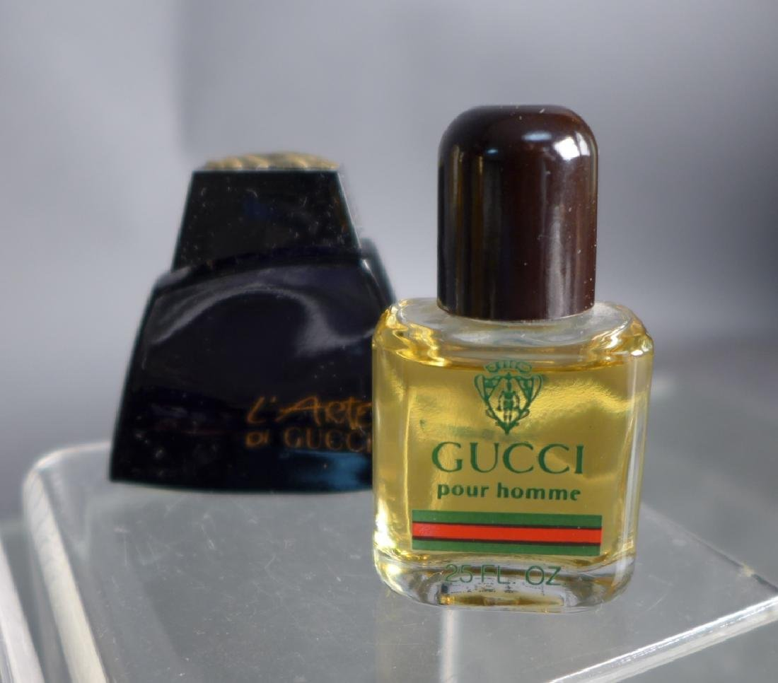 Cartier, Gucci & Fendi Miniature Perfume Bottles - 5