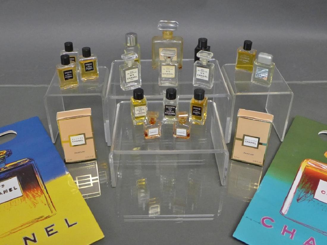 Chanel Miniature Perfume Bottle Collection