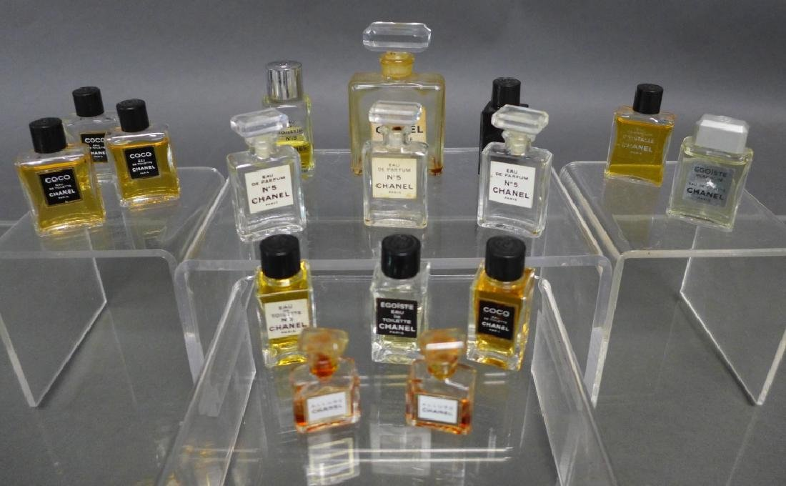 Chanel Miniature Perfume Bottle Collection - 3