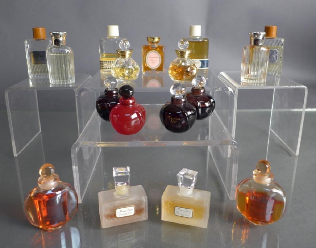 Christian Dior Miniature Perfume Bottle Assortment
