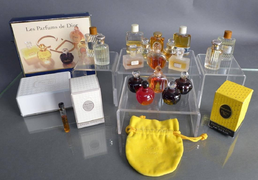 Christian Dior Miniature Perfume Bottle Assortment - 2