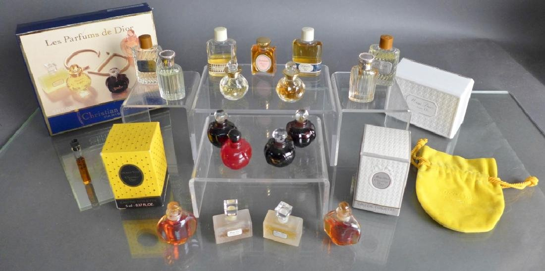 Christian Dior Miniature Perfume Bottle Assortment - 4