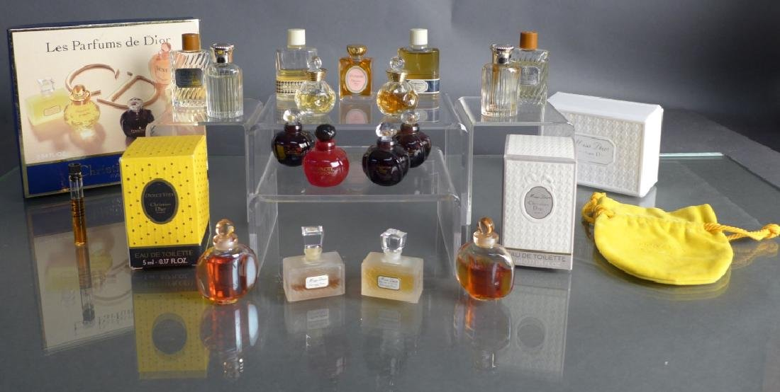 Christian Dior Miniature Perfume Bottle Assortment - 6