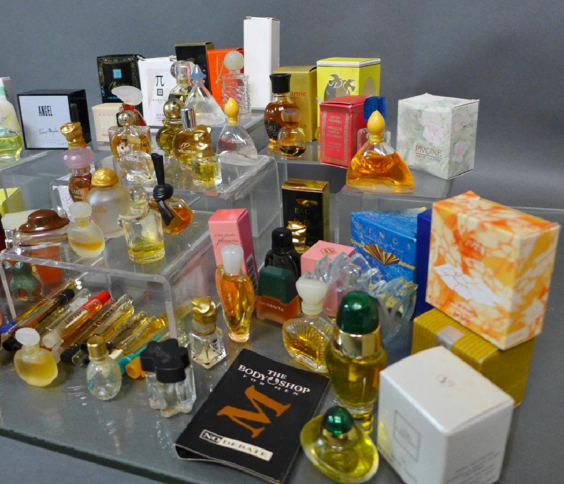Collection of Miniature Cologne & Perfume Bottles - 3