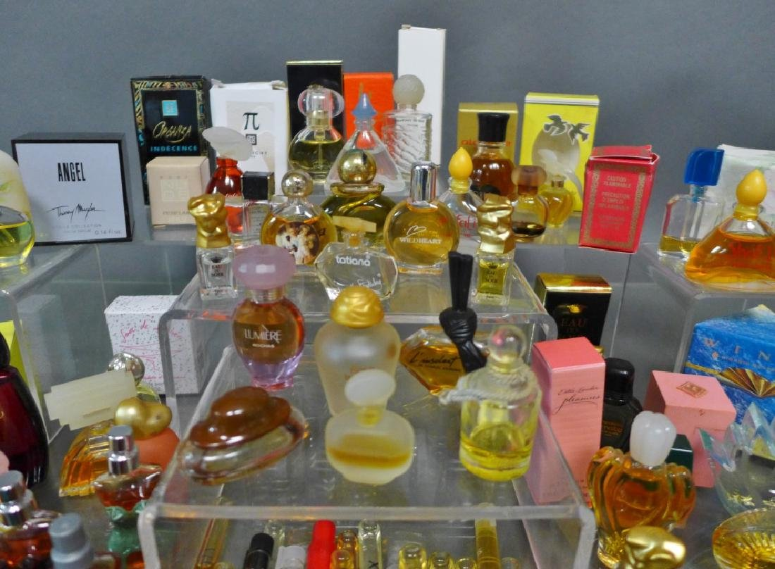 Collection of Miniature Cologne & Perfume Bottles - 4
