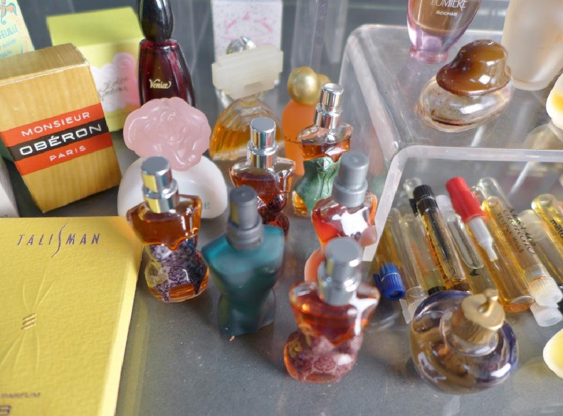 Collection of Miniature Cologne & Perfume Bottles - 8