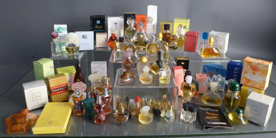 Collection of Miniature Cologne & Perfume Bottles - 9