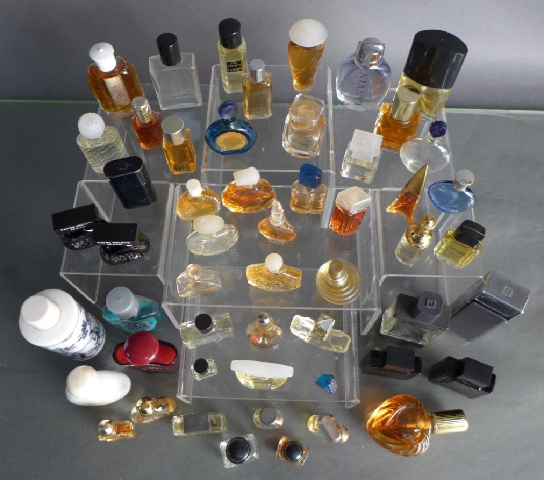 Collection of Miniature Perfume & Cologne Bottles - 10