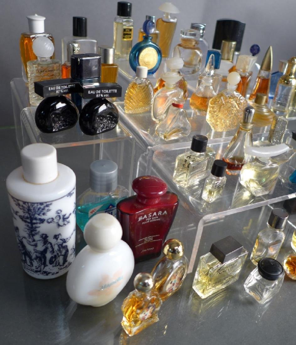 Collection of Miniature Perfume & Cologne Bottles - 2