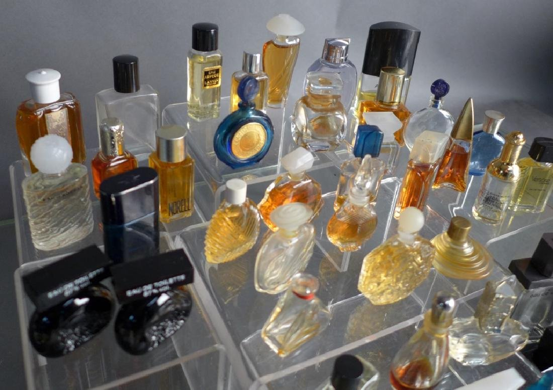 Collection of Miniature Perfume & Cologne Bottles - 3