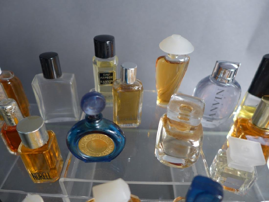 Collection of Miniature Perfume & Cologne Bottles - 7