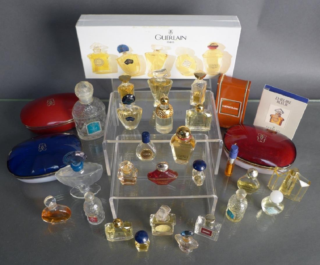 Guerlain Miniature Perfume Bottle Collection