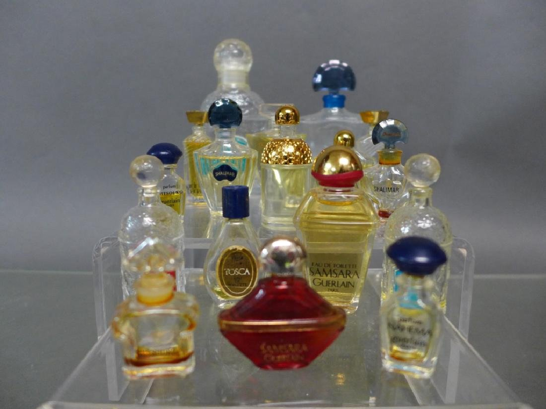 Guerlain Miniature Perfume Bottle Collection - 3