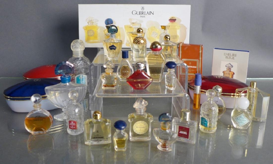 Guerlain Miniature Perfume Bottle Collection - 7