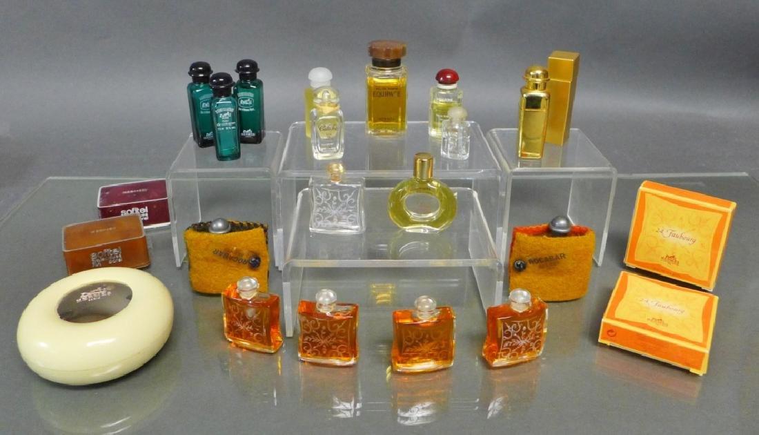Hermes Miniature Perfume & Cologne Bottles