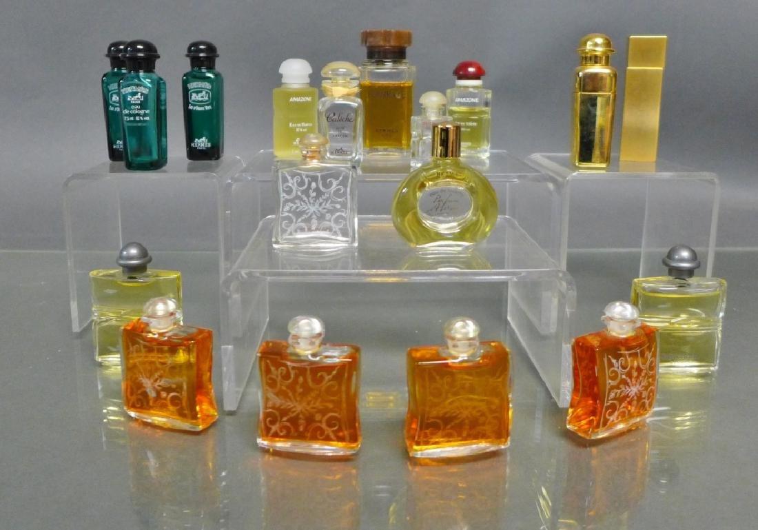 Hermes Miniature Perfume & Cologne Bottles - 2