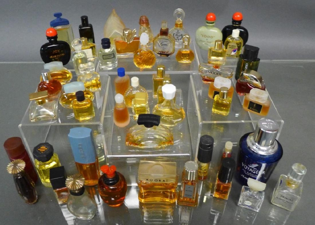 Miniature Perfume & Cologne Bottle Collection