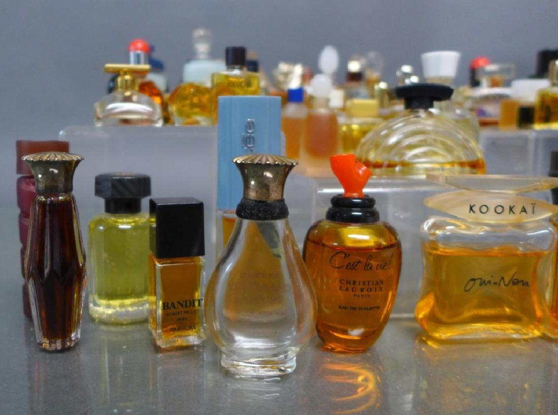 Miniature Perfume & Cologne Bottle Collection - 2