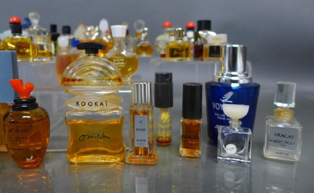 Miniature Perfume & Cologne Bottle Collection - 3