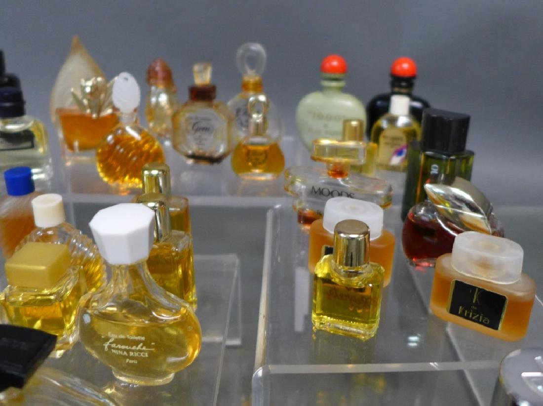 Miniature Perfume & Cologne Bottle Collection - 4