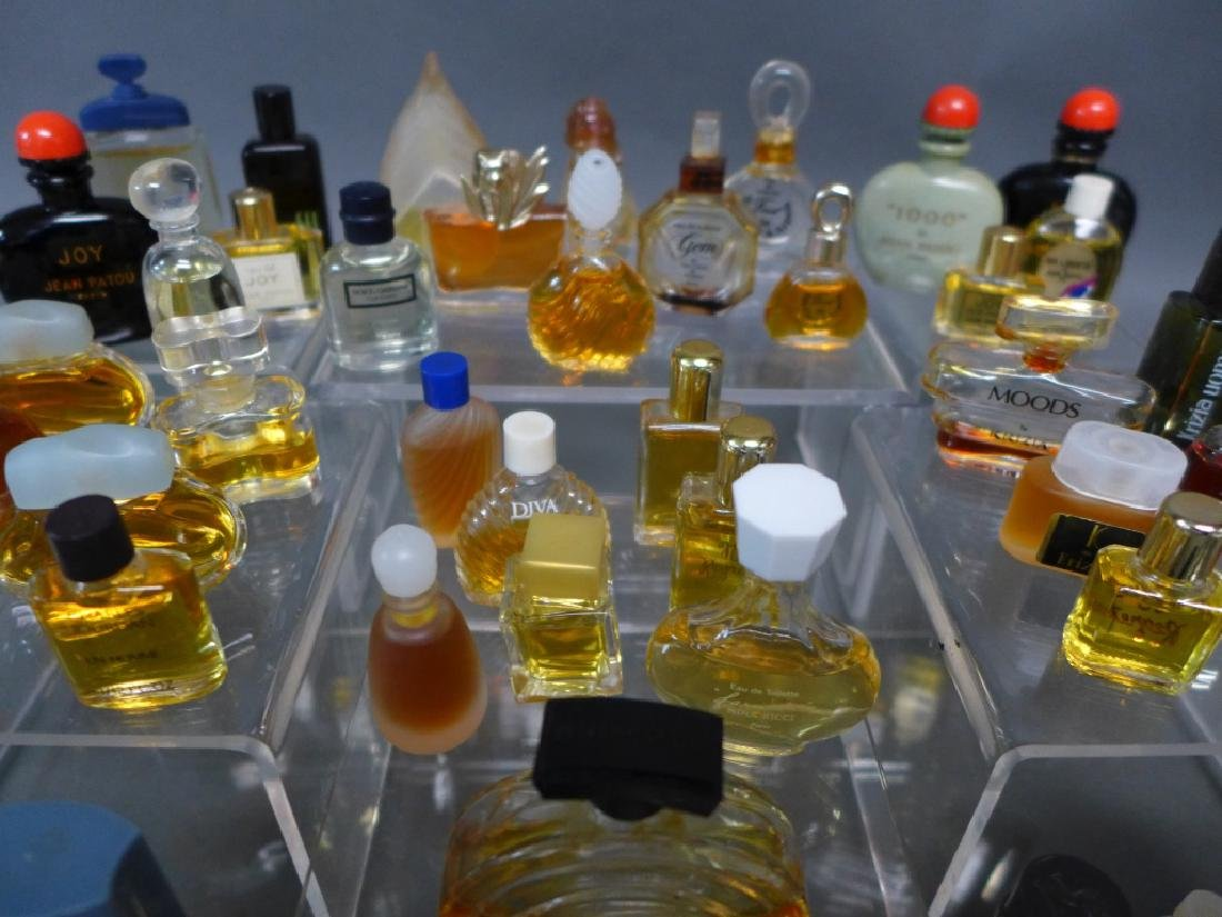 Miniature Perfume & Cologne Bottle Collection - 5