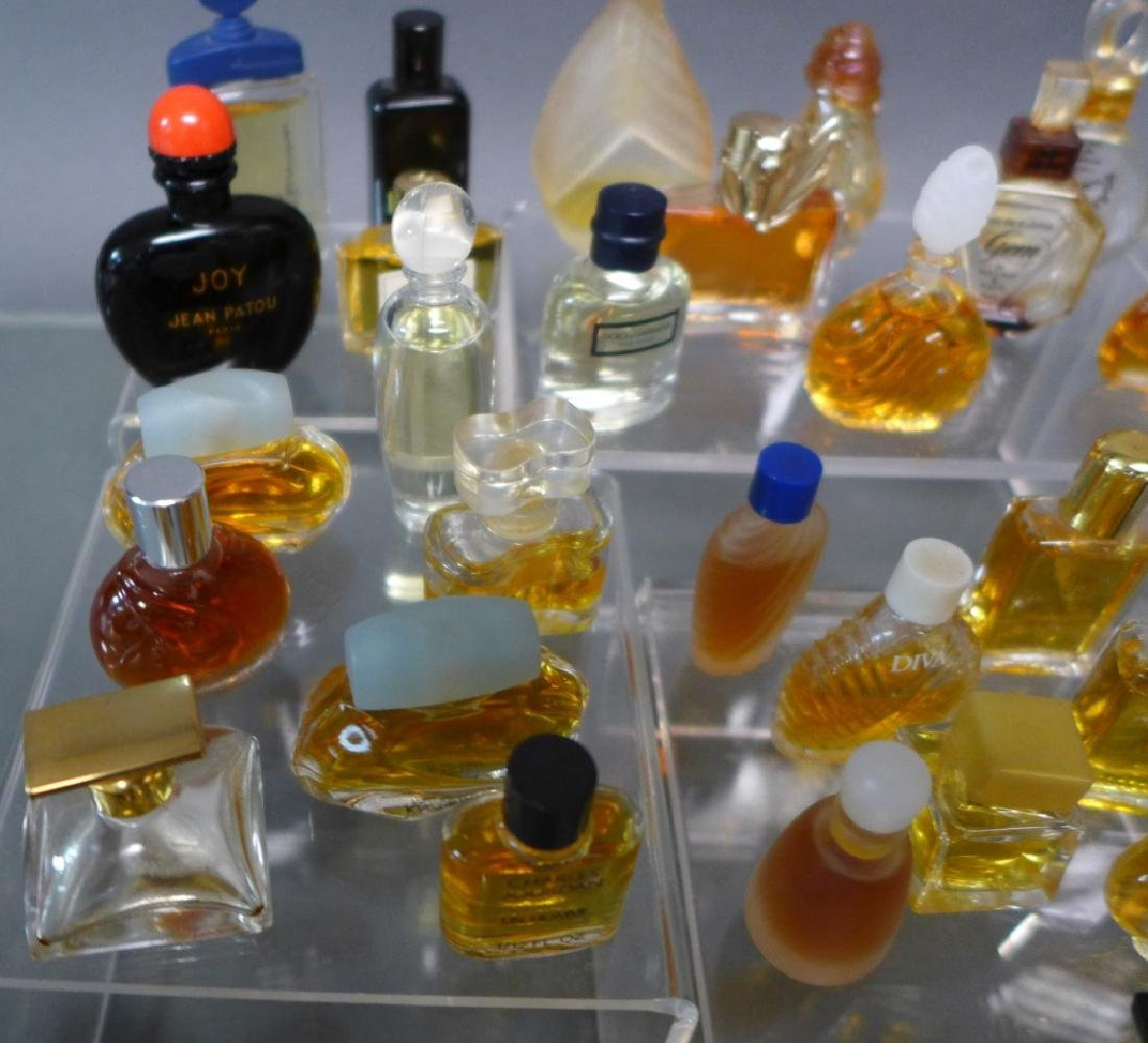 Miniature Perfume & Cologne Bottle Collection - 6