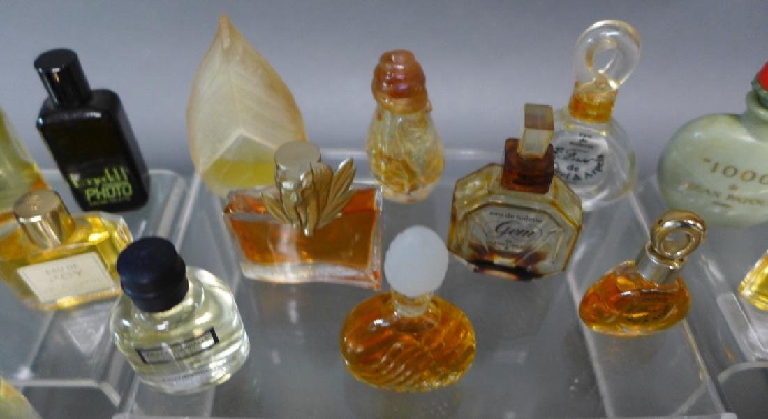Miniature Perfume & Cologne Bottle Collection - 7