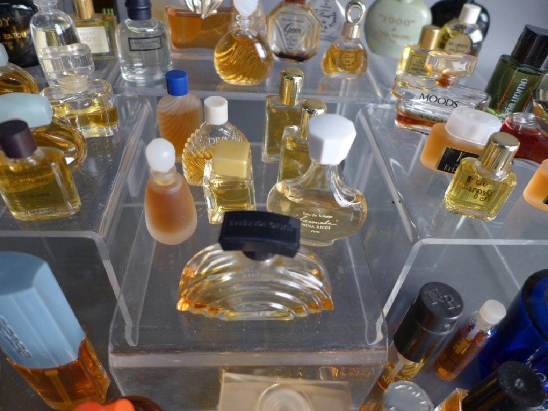 Miniature Perfume & Cologne Bottle Collection - 8