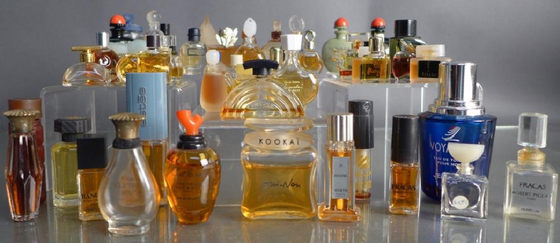 Miniature Perfume & Cologne Bottle Collection - 9