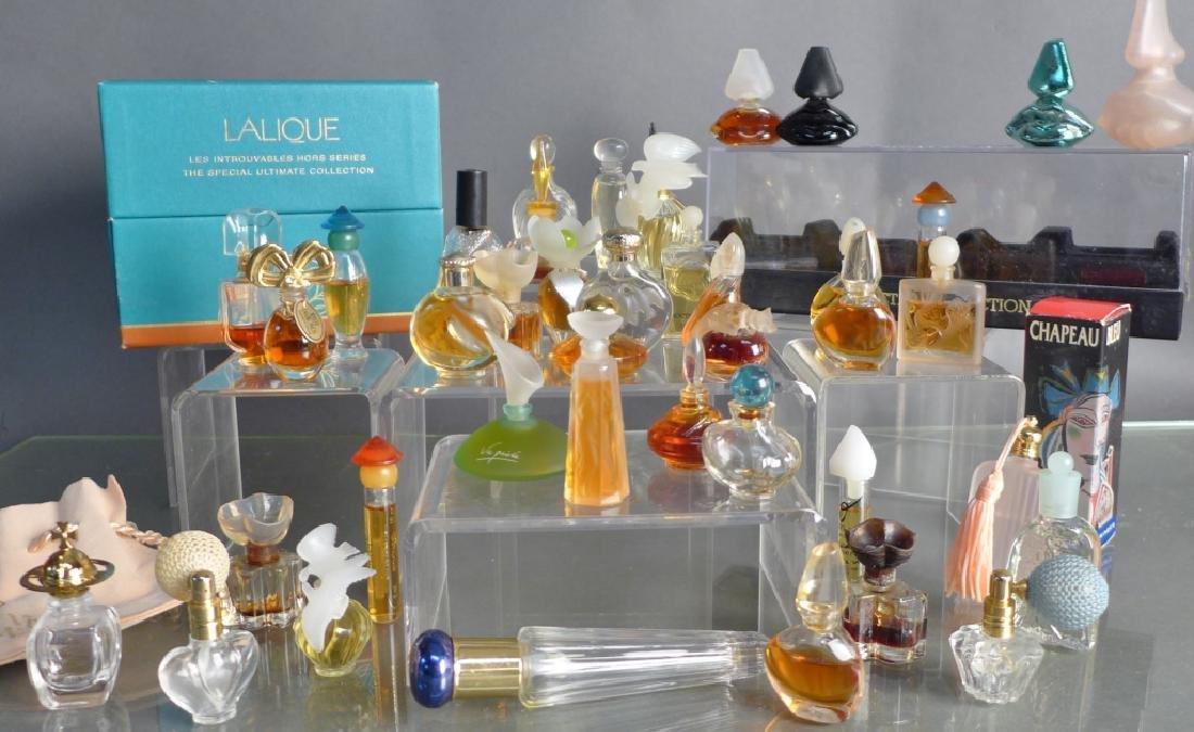 Miniature Perfume Bottles - Lalique, Dali & More