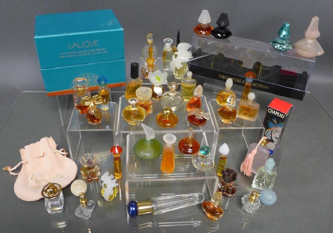 Miniature Perfume Bottles - Lalique, Dali & More - 2