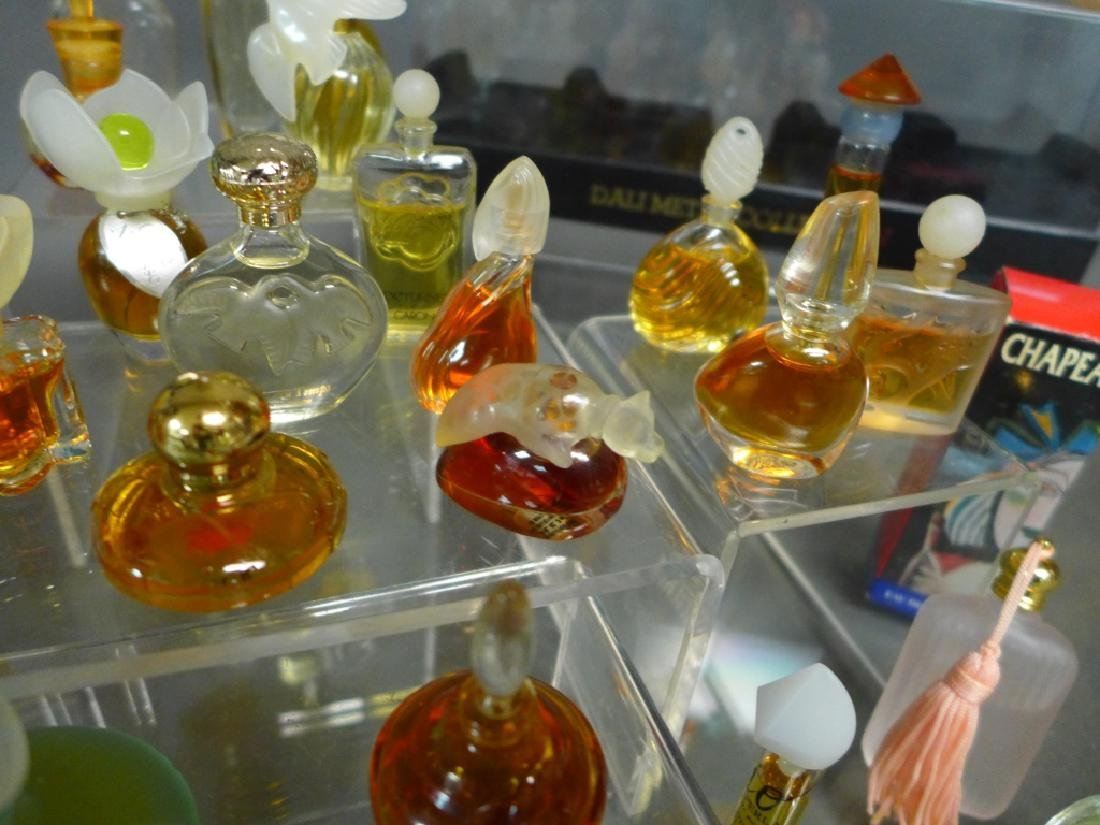 Miniature Perfume Bottles - Lalique, Dali & More - 4
