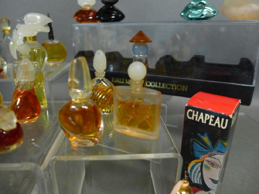 Miniature Perfume Bottles - Lalique, Dali & More - 5