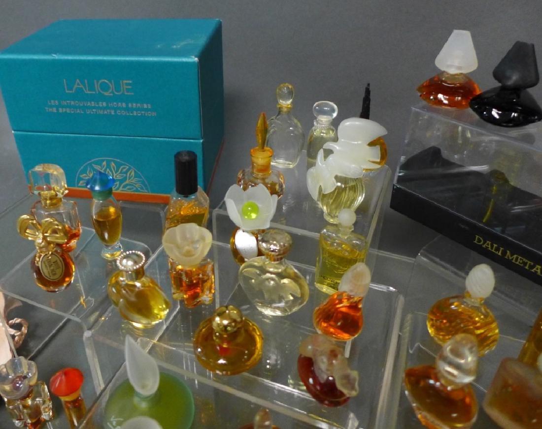 Miniature Perfume Bottles - Lalique, Dali & More - 6