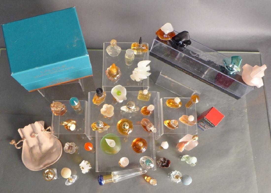 Miniature Perfume Bottles - Lalique, Dali & More - 7