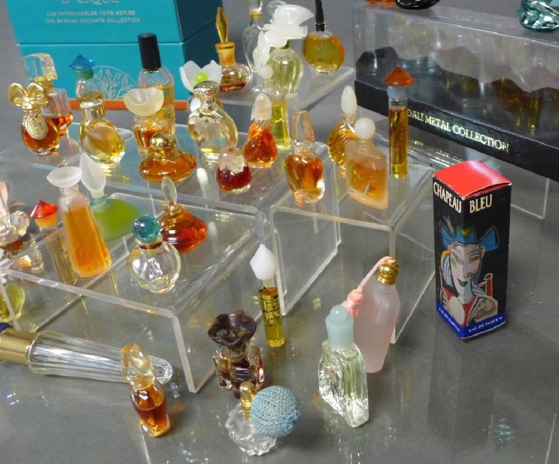Miniature Perfume Bottles - Lalique, Dali & More - 9