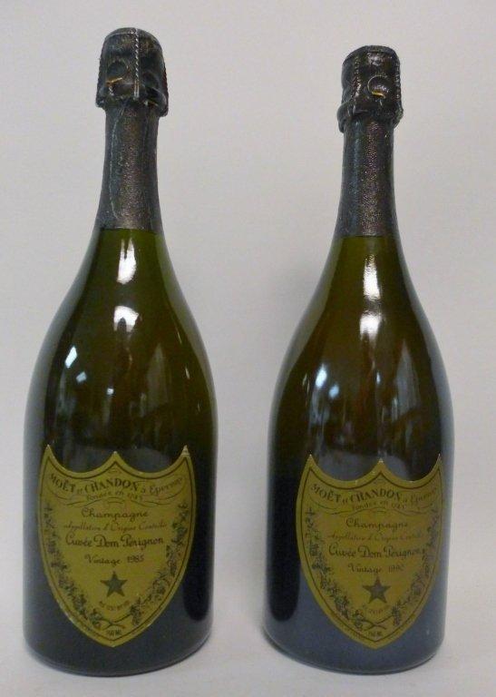 1985 & 1990 Moet et Chandon Dom Perignon Champagne