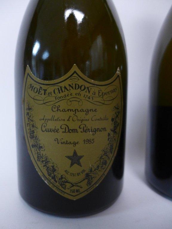1985 & 1990 Moet et Chandon Dom Perignon Champagne - 2