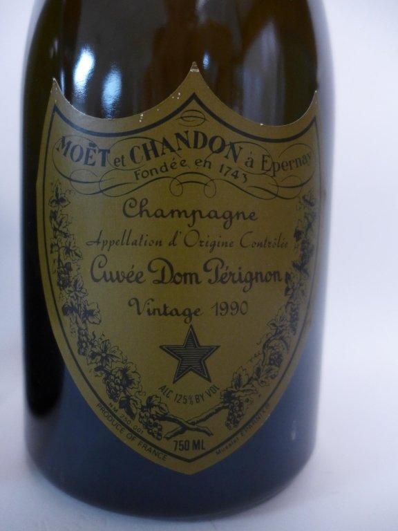 1985 & 1990 Moet et Chandon Dom Perignon Champagne - 3