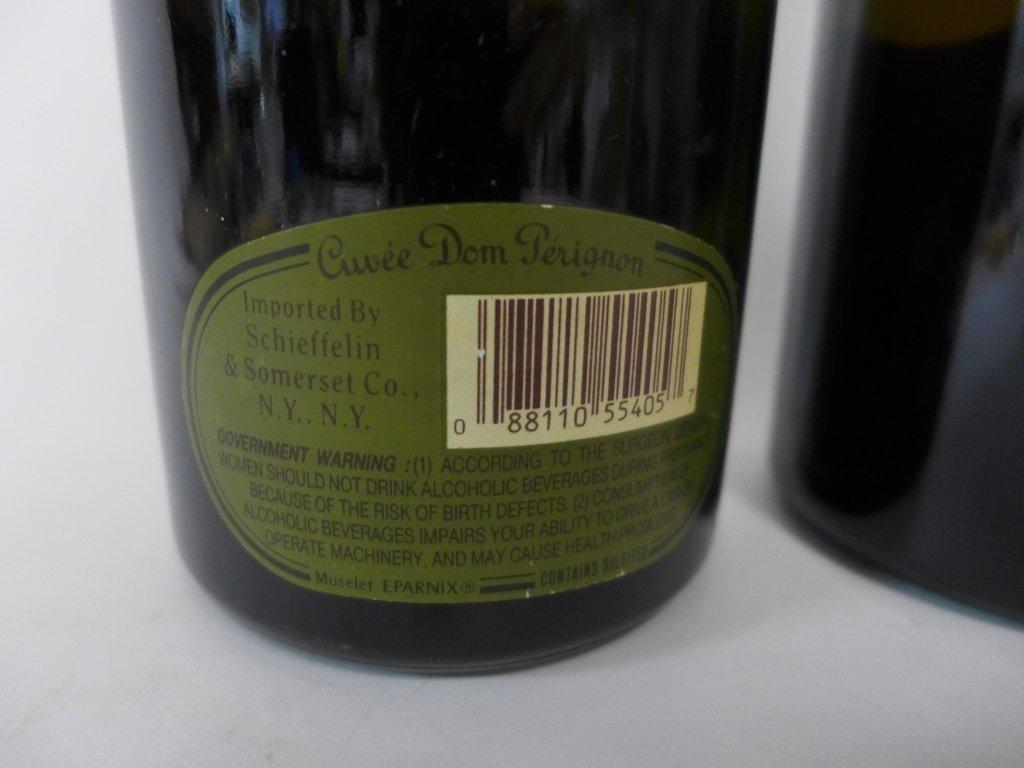 1985 & 1990 Moet et Chandon Dom Perignon Champagne - 5