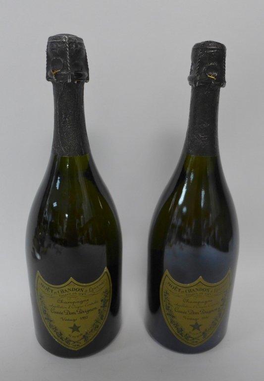 1985 & 1990 Moet et Chandon Dom Perignon Champagne - 8