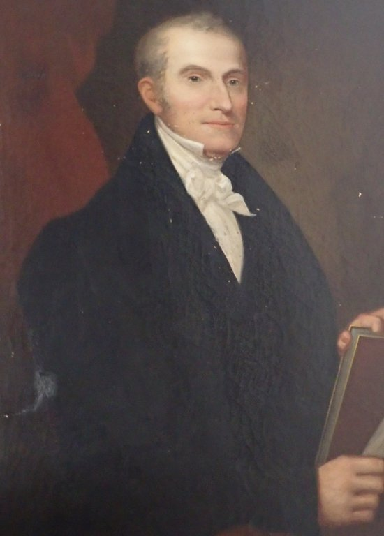 Unsigned Portrait Oil Painting - 2