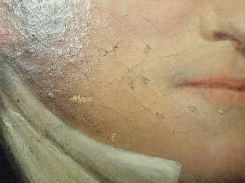 Unsigned Portrait Oil Painting - 4