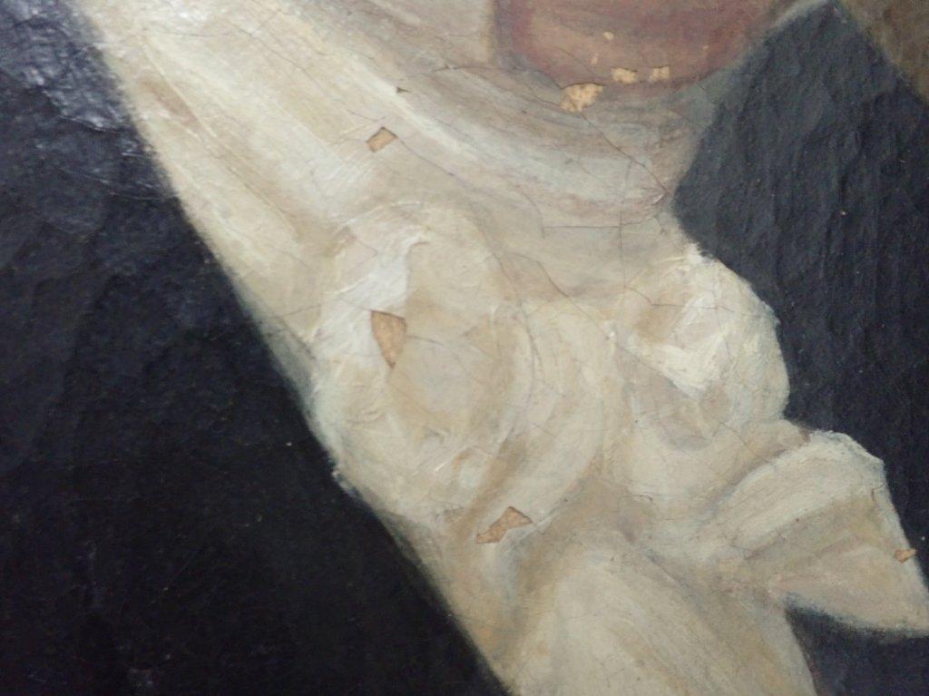 Unsigned Portrait Oil Painting - 7