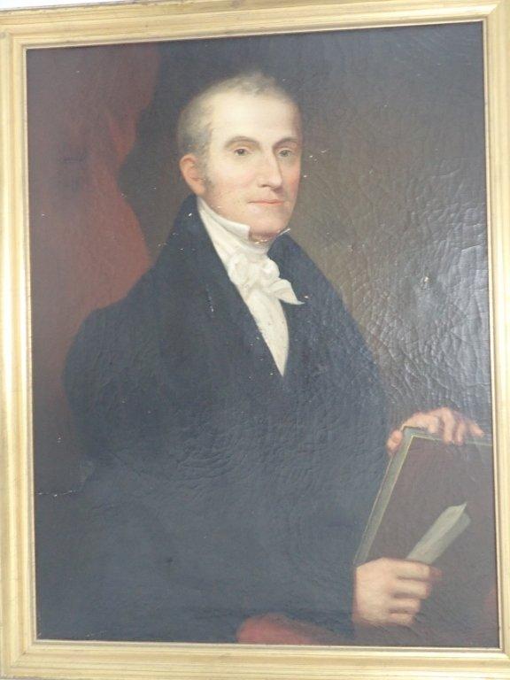 Unsigned Portrait Oil Painting - 9