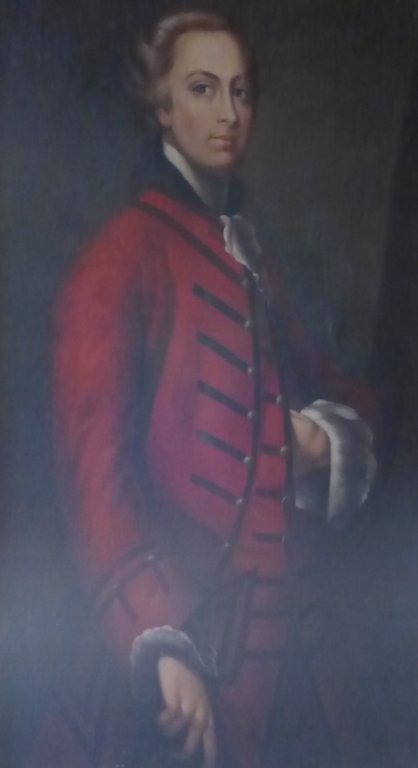 Large Signed Oil Painting Portrait - 2