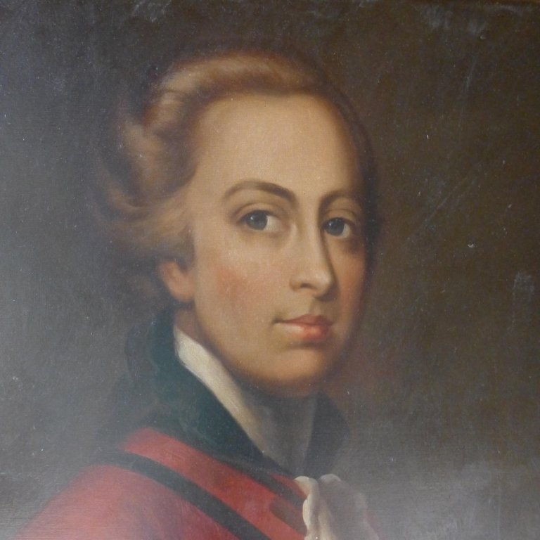 Large Signed Oil Painting Portrait - 3