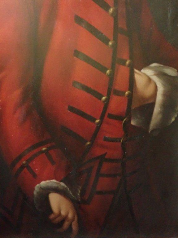 Large Signed Oil Painting Portrait - 7