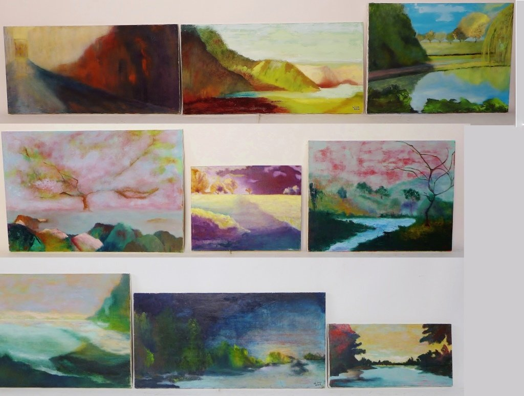 Landscape Paintings, Signed by Artist