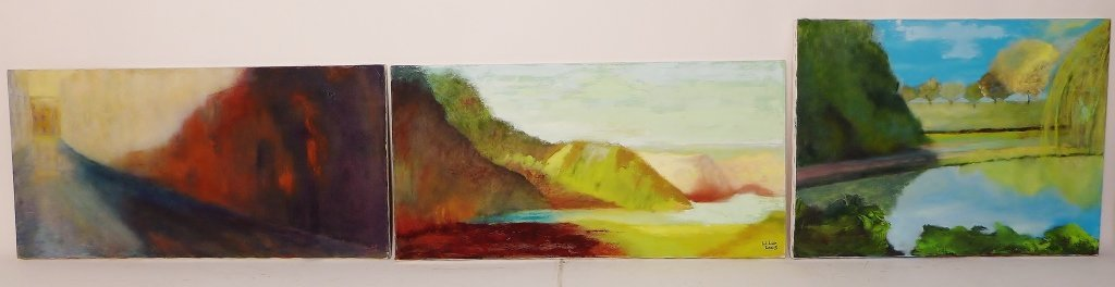 Landscape Paintings, Signed by Artist - 2